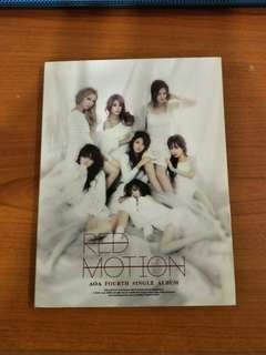 [POSTAGE INCLUDED]AOA Red Motion album