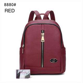 Coach Backpack Red Color