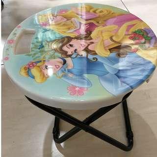 disney princess foldable stool