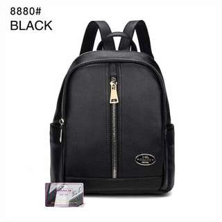Coach Backpack Black Color