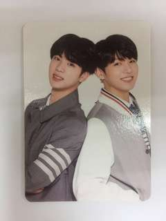 BTS 4th Muster Jin & Jungkook Photo Card