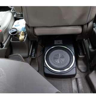 包安裝 $1200 正廠 MBQ 10吋 櫈低低音 有源低音 不需加水塘 後級 大聲 好力