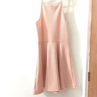 REPRICED H&M Pink Halter Dress