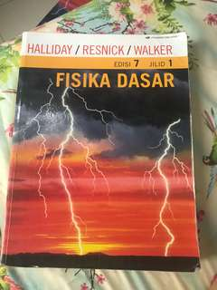 [ ORI ] Buku Fisika Dasar 1 by Halliday
