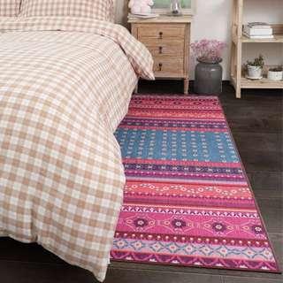 🚚 阿曼達兒童臥室地毯客廳床邊毯榻榻米可機洗滿鋪房間家用長方形