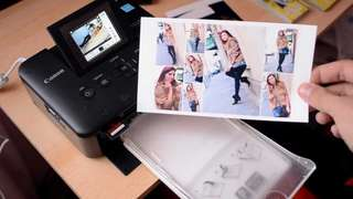 Cannon wifi selfy photo Printer