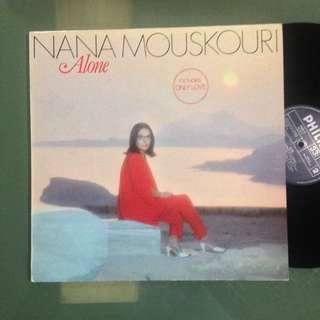 Lp Nana Mouskouri (vinyl / piring hitam)