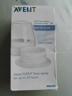 Avent teat travel pack