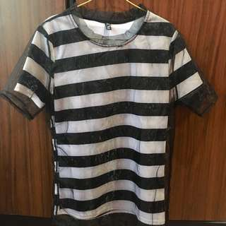 Stripy Organza