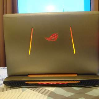 Asus ROG G752VT gaming notebook