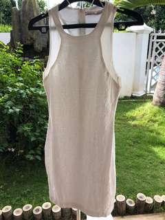 Dress kutungan putih