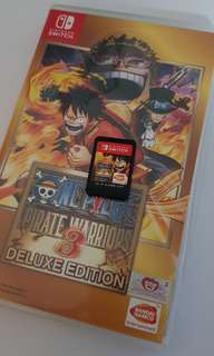 One piece pirate warriors 3 deluxe