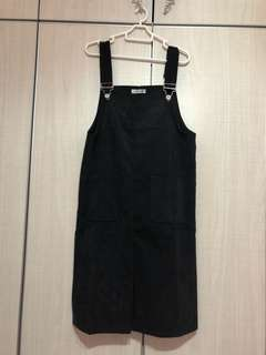 Adjustable Korean Overall dress