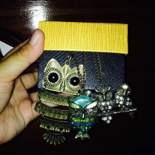 Owl chain all for 1 price