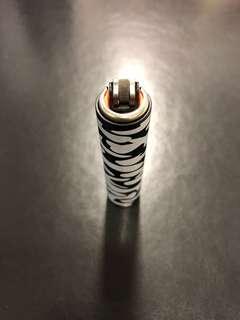 CLIPPER-Black Camo Metal Lighter