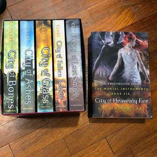 THE MORTAL INSTRUMENTS (Books 1-6) by Cassandra Clare
