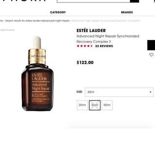 🚚 Estee Lauder Advanced Night Repair synchronised recovery complex II