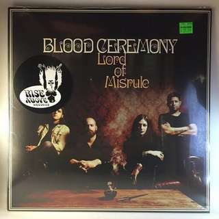 """🚚 VINYL - Blood Ceremony """"Lords Of Misrule"""" (2016) *NEW*"""