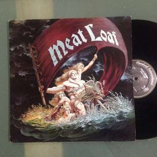 Lp Meat Loaf (vinyl / piring hitam)