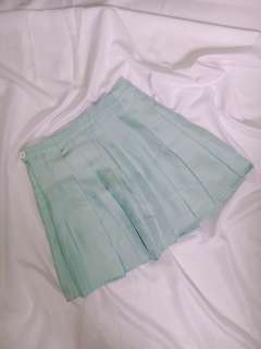 FREE NM | Baby Blue Tennis Skirt