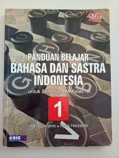 Buku Pelajaran SMA - Sastra & Bahasa Indonesia