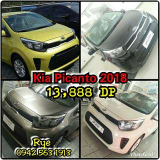 LEGIT DEALS 13,888 or 23K ALL-IN DP KIA PICANTO SL 2018.