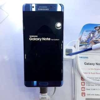 Kredit Samsung Note FE tanpa CC proses 3 menit