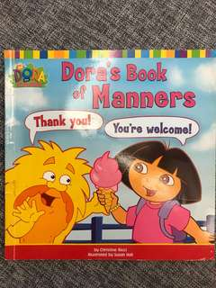 Dora the Explorer Dora's book of Manners