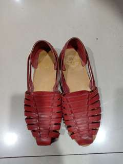 Flat Shoes Leather
