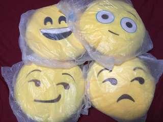 Emoji cushions 😏😒😅😳