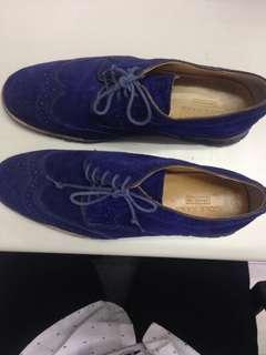 Cole Haan Zerogrand Blue Suade 11M