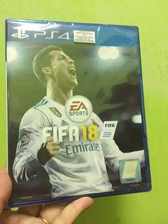 FIFA 18 PS4 GAMES SEALED