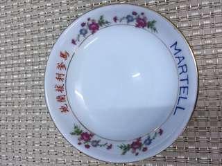 50s 絕版馬爹利拔蘭地 豉油碟