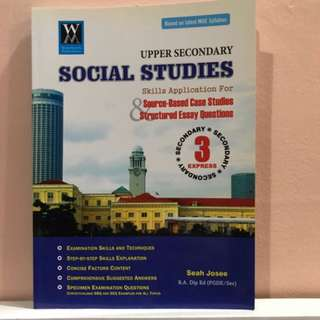 Upper Secondary Social Studies Secondary 3 Express