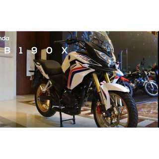 honda cb190x $4.5k Machine Price D/P $500 or $0 With out insurance (Terms and conditions apply. Pls call 67468582 De Xing Motor Pte Ltd Blk 3006 Ubi Road 1 #01-356 S 408700.