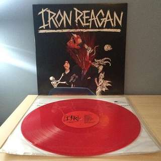 "🚚 VINYL - Iron Reagan ‎""The Tyranny Of Will"" (2014 limited edition)"