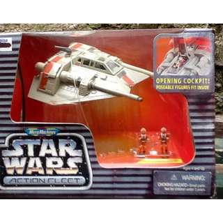 "STAR WARS ACTION FLEET  ""Rebel Snowspeeder"""