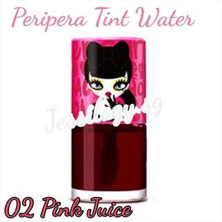 INSTOCK Peripera Peri's Water Tint in PINK JUICE / Peri's Tint Water Juice / Peri Pera Watertint / PeriPera Peris Tint Water in 02 - Pink Juice