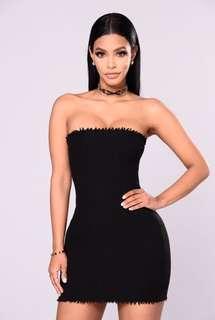 Fashion Nova Evocative Tube Dress