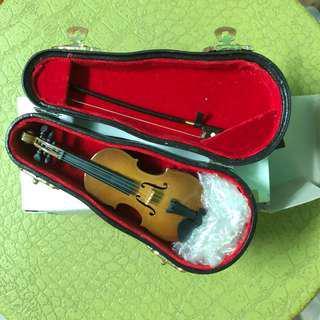 小提琴迷你模型 Violin Small Miniature Model