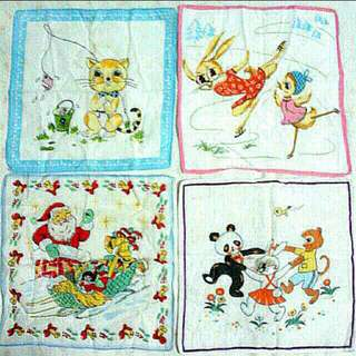 Vintage Handkerchiefs (3 for $10)