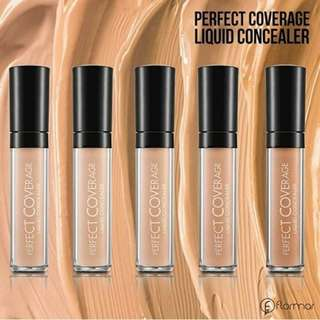 [preloved 70%] Flomar Perfect Coverage Liquid Concelear