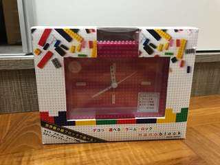 Nano Block 時鐘 (粉紅色)