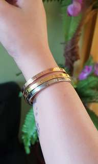 Cartier Inspired Bangles