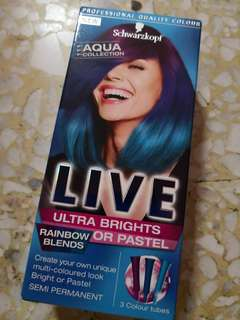 Schwarzkopf Rainbow Hair Color