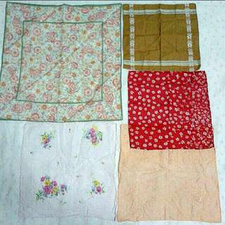 Vintage Girls' Handkerchiefs ($12 for 3)