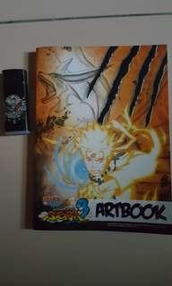 Naruto uns3 artbook