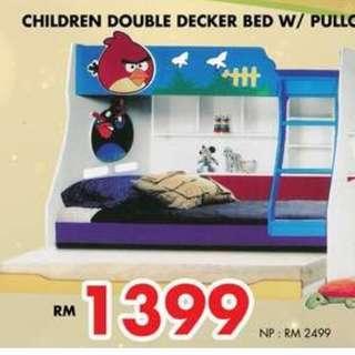 DOUBLE DECKER FOR CHILDREN OFFER PRICE