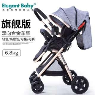 ★Foldable Stroller ★ High View★ Infant Bassinet★ Jogging Stroller ★ Pram