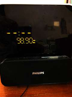Philips alarm clock radio iPod